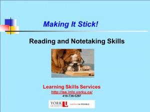Rdg&NoteTaking Blue Title2013-14