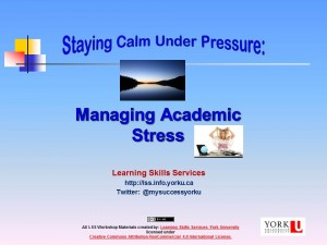 Managing Ac Stress 2015-16
