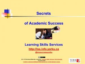 Secrets Ac Success 2015